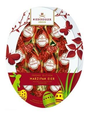 Niederegger Marzipan Eggs - Oval Easter Egg Pkg - 150 g/5.3 oz