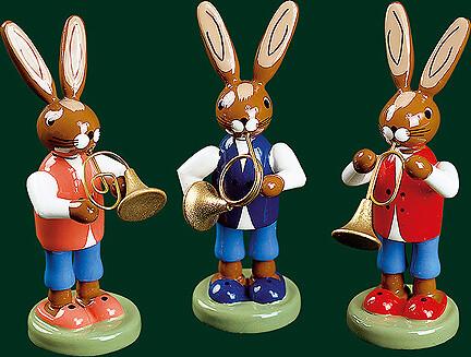 Richard Glaesser - Easter-Bunny trio (Set of Three)