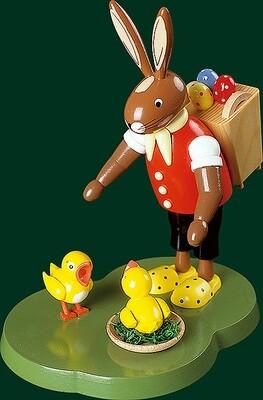 Richard Glaesser - Easter-Bunny with basket