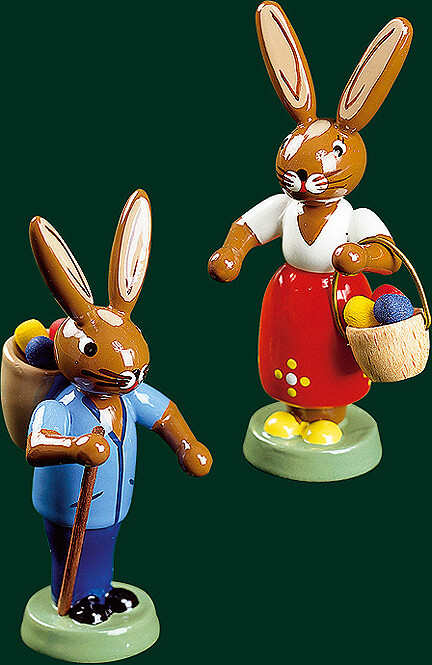 Richard Glaesser - Easter Bunnies (Set of Two)
