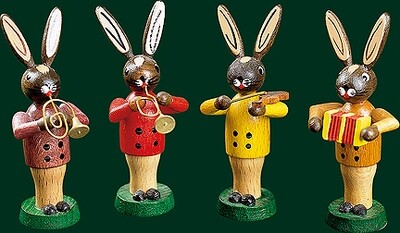 Richard Glaesser - Easter-Bunny Musician Quartet