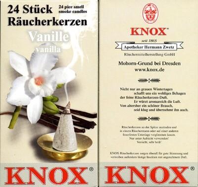 KNOX Incense Cones, Vanilla (Large)