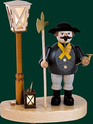 Glaesser Incense Smokers - Nightwatchman with battery