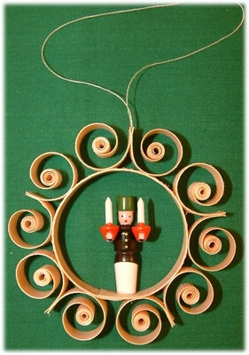 Johanness Heidrich - Tree Ornament with miner and candles