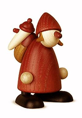 Bjoern Koehler - Mrs. Santa - with small Santa in sack