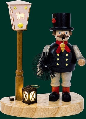 Glaesser Incense Smokers - Chimney sweeper with battery