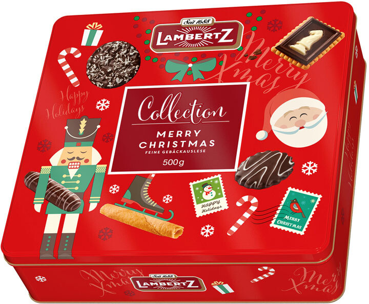 Henry Lambertz - Sweet Mix Christmas Tin  - 500g/17.6 Oz