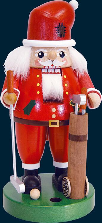Glaesser Nutcracker - Santa Golfer