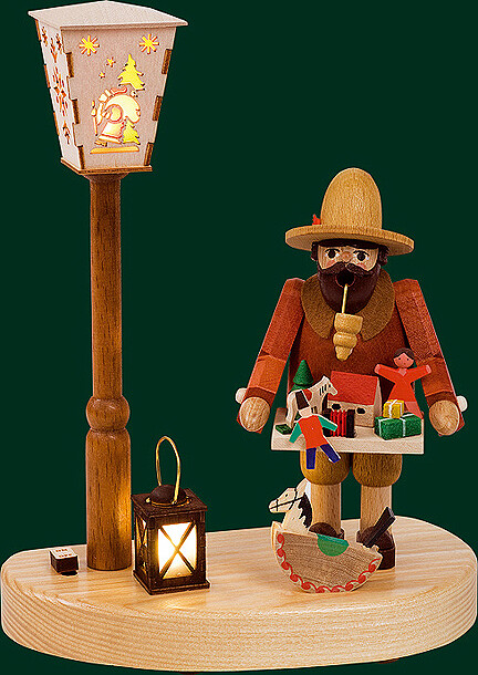Glaesser Incense Smokers - Toy peddler with battery