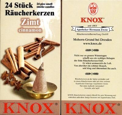 KNOX Incense Cones, Cinnamon (Large)