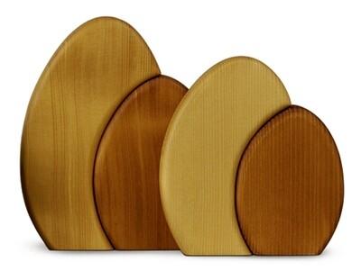 Bjoern Koehler Kunsthandwerk - Shrub for Wallframe - Brown 15 cm