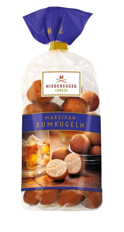 Niederegger Marzipan Rum Kugeln (Kartoffel-Beutel) - 150g/5.33 oz