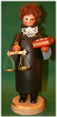 Eva Beyer - Incense Smoker - Woman Judge