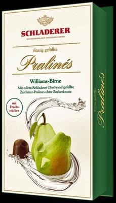 Schladerer Pralines - Williams Pear Brandy - 148g/5.3 oz