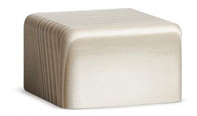 Bjoern Koehler Kunsthandwerk - Wooden Block White - Small