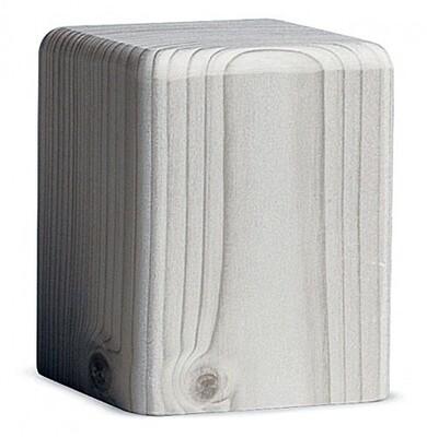 Bjoern Koehler Kunsthandwerk - Wooden Block White - Medium