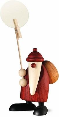 Bjoern Koehler Kunsthandwerk - Santa with 'Note Holder'