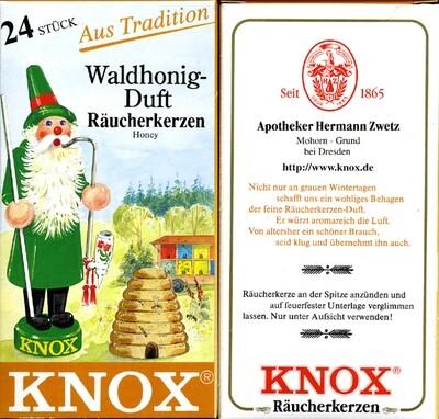 KNOX Incense Cones,  Honey (Large)