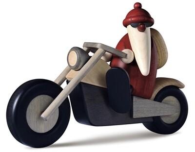 Bjoern Koehler Kunsthandwerk - Santa on Motorcycle