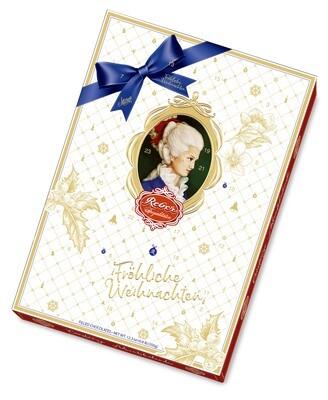Reber Marzipan - Constanze-Adventskalender, 350 g/12.45 Oz