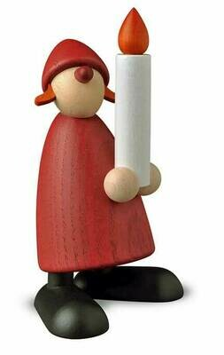 Bjoern Koehler Kunsthandwerk - Mrs. Santa - with Candle