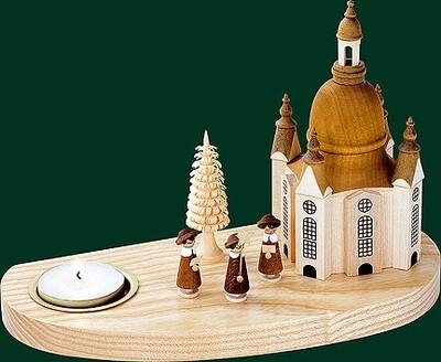 Glaesser Tea Light Candle Holder-Church of our Lady, boys choir