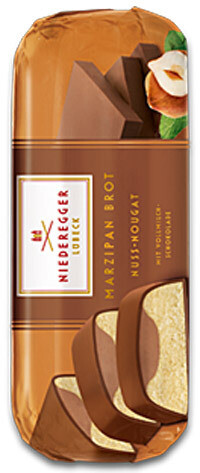 Niederegger Filled Marzipan Loaf - Nougat Mousse - 75g/2.6 oz
