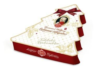 Reber Christmast Tree Box -  Mozart-Kugel Assortment, 240g/8.53 Oz