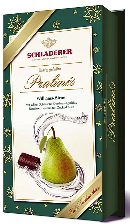 Schladerer Pralines - Williams Pear Brandy - 127g/4.5 oz