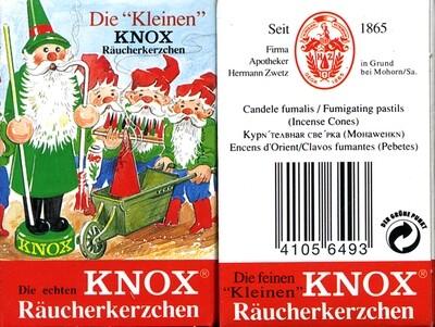 KNOX  Incense Cones (Mini)
