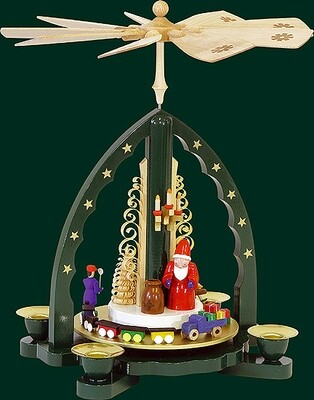 Glaesser - Green Pyramid  with Santa