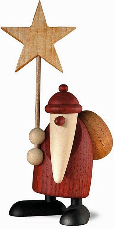 Bjoern Koehler Kunsthandwerk - Santa with Christmas Star