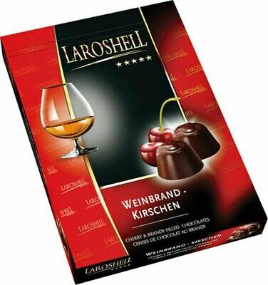 LaRoshell Cherry and Brandy Filled Chocolate - 150 g/5.25 oz