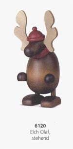 Bjoern Koehler Kunsthandwerk - Elk/Moose 'Olaf' Standing Position