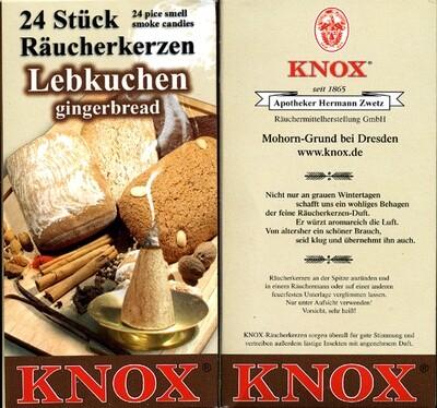 KNOX Incense Cones, Gingerbread (Large)