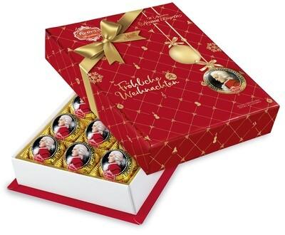 Mozart-Barock« 15er-Packung, Zartbitter-Chocolade in Christmas Decor