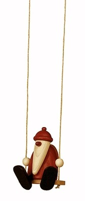 Bjoern Koehler Kunsthandwerk - Santa on Swing