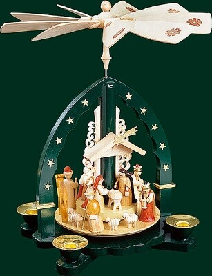 Glaesser - Green Pyramid The Birth of Jesus Christ