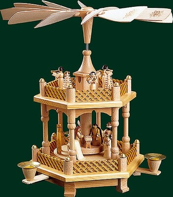 Glaesser - One Tier Pyramid Birth of Jesus Christ
