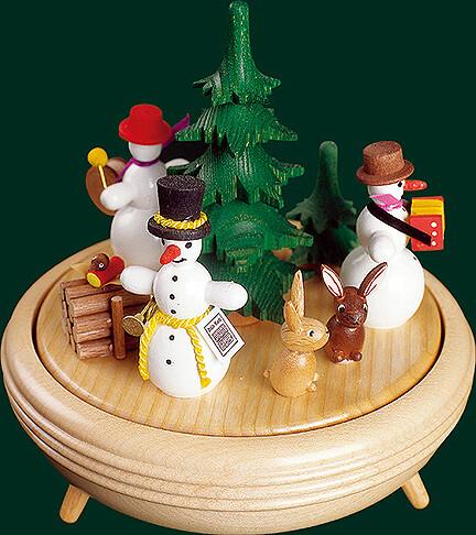 Richard Glaesser Music Box - Snowman - Threesome