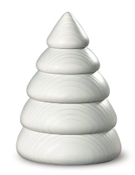 Bjoern Koehler Kunsthandwerk - White Winter Tree - Small (9.5 cm)