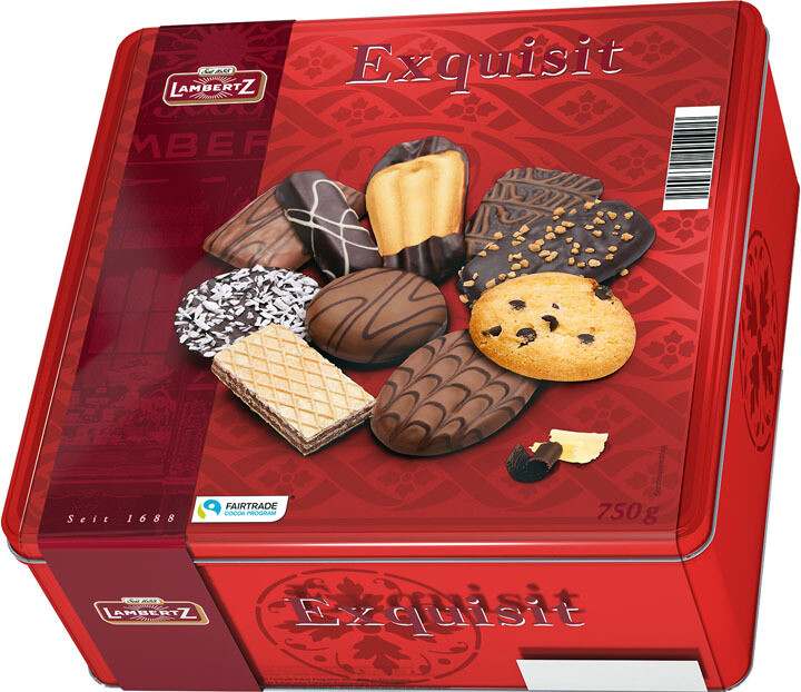 Henry Lambertz - Exquisite Red Tin  - 750g/26.45 Oz