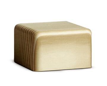 Bjoern Koehler Kunsthandwerk - Wooden Block Natural wood - Small