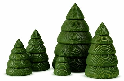 Bjoern Koehler Kunsthandwerk - Pine Tree - Small (9.5 cm)