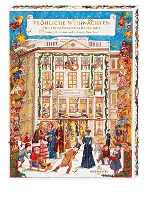 Niederegger Marzipan Cafe Niederegger Advent Calendar - 525 g