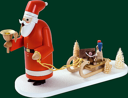 Glaesser Smokers - Santa with Sleigh