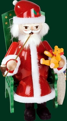 Glaesser Incense Smokers - Santa in Easy Chair