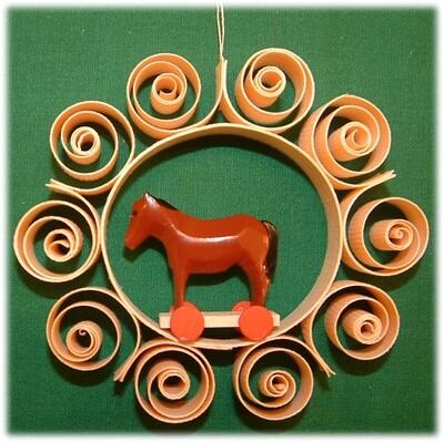 Johanness Heidrich - Tree Ornament Sheep on wheels