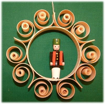 Johanness Heidrich - Tree Ornament with miner, simple