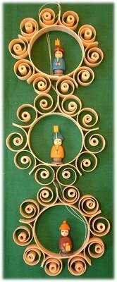 Johanness Heidrich - Tree Ornament Child with Lantern - 3 designs